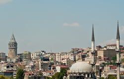 Estambul, antiguo y moderno Foto de archivo