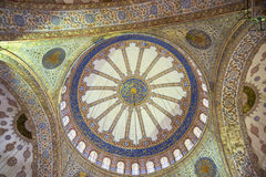 Estambul dentro de una mezquita fotografía de archivo