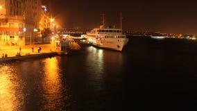Estambul en la noche karaköy Fotos de archivo