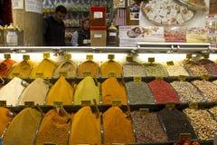 Estambul - especia baazar Imagen de archivo