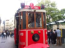 Estambul Istiklal abril de 2014 Foto de archivo
