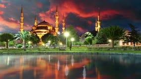 Estambul, mezquita azul - lapso de tiempo