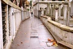 Estambul - mezquita del sultán de Eyup, cementerio musulmán, Turquía Fotografía de archivo