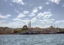 Estambul - paso del transbordador Foto de archivo