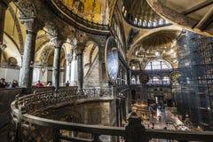 ESTAMBUL, TURQUÍA - 13 DE DICIEMBRE DE 2015: El Hagia Sophia Foto de archivo