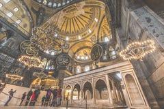 ESTAMBUL, TURQUÍA - 13 DE DICIEMBRE DE 2015: El Hagia Sophia Fotos de archivo
