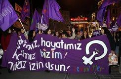 El día de las mujeres internacionales Foto de archivo