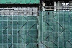Estamenha da construção do arranha-céus Imagem de Stock
