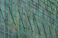 Estamenha da construção do arranha-céus de turquesa Foto de Stock