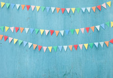 Estamenha de papel colorida Fotos de Stock Royalty Free