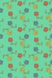 Estampado de flores libre illustration