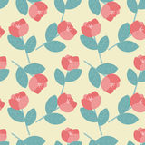 Estampado de flores Imágenes de archivo libres de regalías