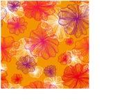 Estampado de flores Fotografía de archivo libre de regalías