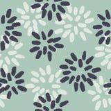 Estampado de flores Imagen de archivo libre de regalías