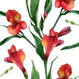 Estampado de flores Fotos de archivo
