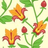 Estampado de flores abstracto colorido inconsútil Foto de archivo