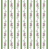 Estampado de flores abstracto de cintas Imagen de archivo