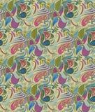 Estampado de flores abstracto del ornamento Fotografía de archivo libre de regalías