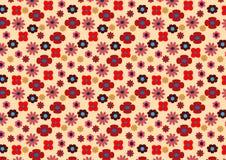 Estampado de flores brillante inconsútil de pequeños elementos Foto de archivo libre de regalías