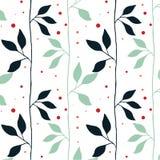 Estampado de flores colorido del vector Fotos de archivo