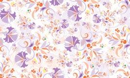 Estampado de flores de repetición inconsútil stock de ilustración