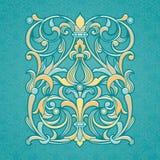 Estampado de flores del vector en estilo victoriano ilustración del vector