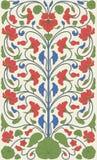 Estampado de flores del vintage del estilo de Pascua ilustración del vector