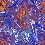 Estampado de flores fantástico ilustración del vector