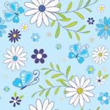 Estampado de flores hermoso inconsútil Imagenes de archivo