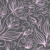 Estampado de flores inconsútil Imagen de archivo libre de regalías