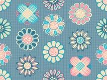 Estampado de flores inconsútil ilustración del vector