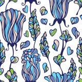Estampado de flores inconsútil libre illustration