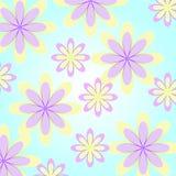 Estampado de flores inconsútil abstracto ilustración del vector