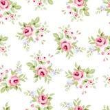 Estampado de flores inconsútil con las rosas rosadas Foto de archivo
