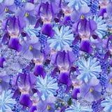 Estampado de floresinconsútil de BlueFotos de archivo