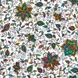 Estampado de flores inconsútil del color del vector libre illustration