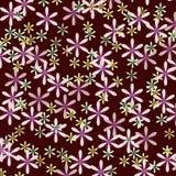 Estampado de flores inconsútil del vector ilustración del vector