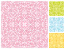 Estampado de flores inconsútil en esquemas de color en colores pastel Imagen de archivo libre de regalías