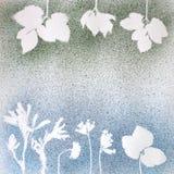 Estampado de flores original Imagenes de archivo