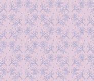Estampado de flores patteSeamless inconsútil, fondo monótono monocromático de la lavanda, materia textil inconsútil, impresión de ilustración del vector