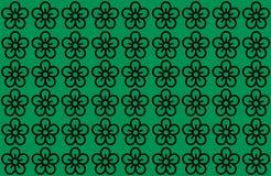 Estampado de plores con el fondo verde Los p?talos dise?an el fondo claro extendido por Utilice los art?culos, impresi?n, ejemplo foto de archivo libre de regalías