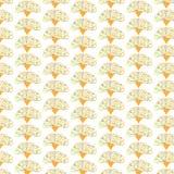 Estampados de flores inconsútiles de la belleza en fondo verde Imagen de archivo libre de regalías