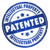 Estampille brevetée Photographie stock
