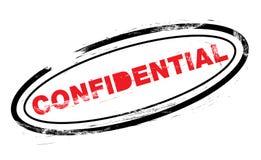 Estampille confidentielle photographie stock
