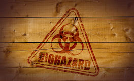 Estampille de Biohazard Photos stock