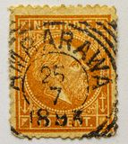 Estampille de cru ned INDÉPENDANT, AMBARAWA 1893 ! Image stock