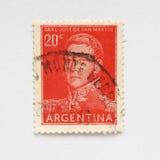 estampille de l'Argentine Image libre de droits