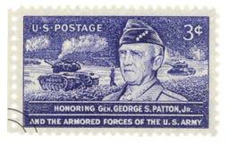 Estampille de l'armée américaine Images stock