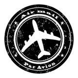 Estampille de la poste aérienne Photo libre de droits