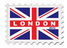 Estampille de Londres 2012 Photos stock